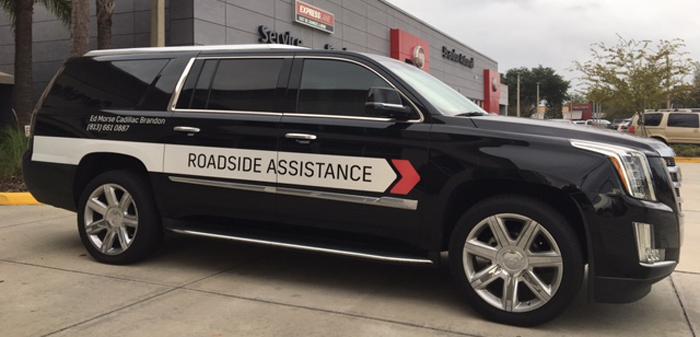 Cadillac Roadside assistance